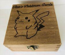 Personalised Jewellery Memory Box 12cm Pikachu Pokemon Christmas Card Box Gift