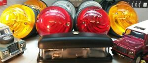Land Rover Series Defender TDi Gen OEM Wipac External & Number Plate Lights Set