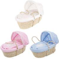 Obaby B IS FOR BEAR MOSES BASKET Baby/Newborn Bedroom/Nursery Sleeping BN