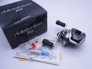 13 Shimano Metanium XG 8.5:1 Gear Right Handle Baitcasting Reel Very Good+ W/Box