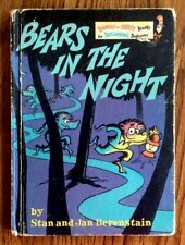 Bears In The Night 1971 ~FIRST EDITION~ Bright & Early Books Excellent Condition