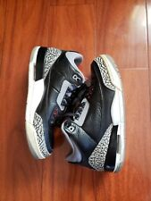 Retro Jordan 3 black cement