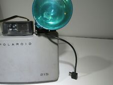 Vintage Polaroid Automatic Land Camera 215 with Flash Attachment - Untested