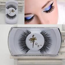 100% Black Real Mink Soft Long Natural Thick Makeup Eye Lashes False Eyelashes