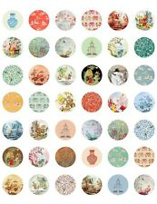 Vintage/ Antique Oriental Chinoiserie Labels ~ PRINTABLE Bottle Cap Images