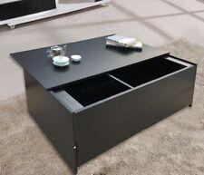 Mesas de color principal negro para el dormitorio