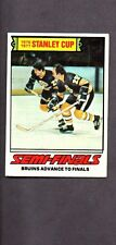 1977 Topps STANLEY CUP SEMI FINALS CARD # 263 NICE!!!!!