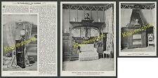 Weltausstellung Paris Möbel Jugendstil Hofmöbelfabrik L. J. Peter Mannheim 1900
