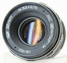 MC Zenitar M Lens f1.9/50 Portrait M42 Mount Zenit New in open Box