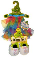 Build a Dino Rainbow Tulle Halter Dress Flowered Sandals Teddy Bear Size Outfit