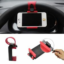 Gift Smart For MP4 Universal Keeper Stand Rubber Phone Clip Car Wheel Holder