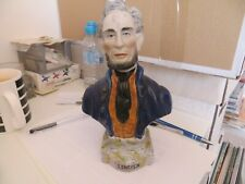 More details for vintage figure bust abe abraham lincoln antique