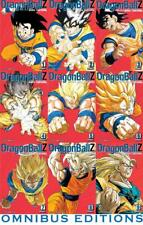 DRAGON BALL Z Omnibus 3-In-1 Collection Series MANGA Books 1-26 in 9 VOLUMES