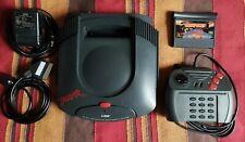 Atari Jaguar with region mod,, new LED + Tempest 2000