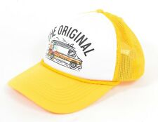 O'Neill DONT TRIP Mens Adjustable Snapback Trucker Hat Yellow Gold NEW