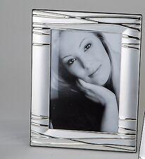 Moderne Cadre Photo Cadre photo en aluminium argent 10x15 cm