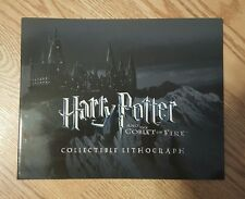 Harry Potter and the Goblet of Fire Collectible Lithograph Folder Set 2006 MINT