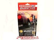 GOODRIDGE STAINLESS STEEL BRAKE LINES FRONT & REAR SET 01-06 BMW E46 M3