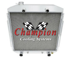 2 Row Super Champion Radiator for 1953 1954 1955 1956 Ford Truck Flathead V8