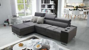 Brand New Corner Sofa Bed With Storage Morena I Mini