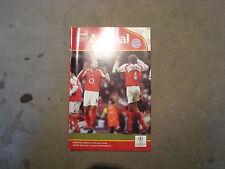Arsenal V BAYERN MUNICH mar 2005 Champions league