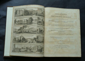 THE HISTORY AND ANTIQUITIES OF SHREWSBURY & Description of County of Salop: 1837