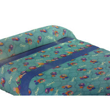 Peppa Pig Set Bed 3 Pieces Blue with Pattern Cotton Baby