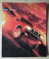FORD RANGER orig 2000 USA Mkt sales brochure poster