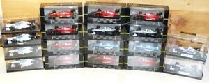 Job Lot Onyx F1 Collection 1:43 Ferrari Williams Renault Ligier Tyrrell etc MIB