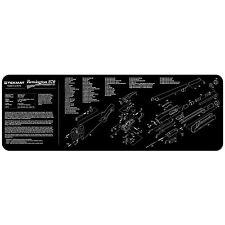 REMINGTON 870 fusil Assemblée vue diagramme Pistolet Nettoyage armurier Bench TekMat
