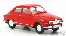 wonderful  little modelcar SAAB 96 - r e d  - in 1:87