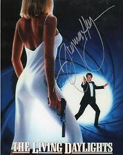 JAMES BOND 007 signed Bond girl 10x8 - VIRGINIA HEY as RUBAVITCH