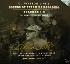 O. Winston Link's Sounds of Steam Railroading Vol. 1-6