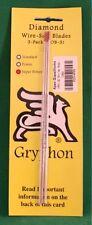 Gryphon Omni 2 Wire Saw Super Power Turbo Coarse Diamond Blade 3-Pack 1