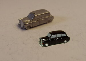 P&D Marsh N Gauge N Scale G05 FX4 Taxi cab casting requires painting