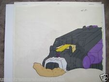 TRANSFORMERS GENERATION 1 DECEPTICONS INSECTICON SHARPNEL ANIME PRODUCTION CEL 2