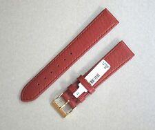 Echt Hirsch Lederband - 18 mm - Hellbraun - mit Dornschliesse