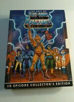 THE BEST OF HE-MAN AND MASTERS OF THE UNIVERSE 2 DVD COLLECTOR'S EDITION