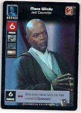 Star Wars Young Jedi CCG Reflections FOIL #5 Mace Windu, Jedi Councilor