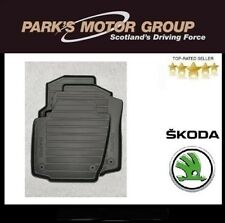 Genuine New Skoda Rapid Spaceback Rubber Mats - 5JC061550