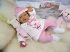ninisingen Reborn Baby Reallife Friderieke Puppe Babypuppe Rebornbaby ca.55 cm