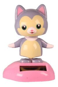 Solar Grey Cat Wobbler