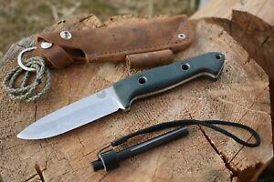 Benchmade Bushcrafter - Bushcraft Survival Knife by Shane Sibert in S30v
