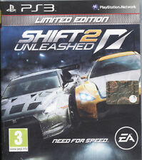 NEED FOR SPEED SHIFT 2 UNLEASHED PS3 LIMITED EDITION NUOVO, ITALIA