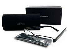 DOLCE GABBANA Eyeglasses Frame D&G 1155 064 52-17-130 Polished Black