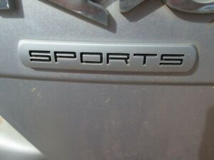 2010 kia rio sports hatch boot badge JB, 05-11 SPORTS