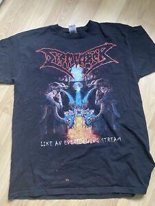 Dismember - Like An Everflowing Stream Shirt Death Metal Rar Vintage Entombed BT