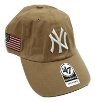 '47 Brand Mens MLB New York Yankees Heritage Strapback Hat Cap New