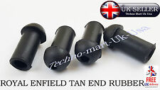 Brand New Royal Enfield Bullet 350cc / 500cc Rear Mudguard Tan Rubber 5 Pcs