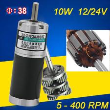 5 400rpm Planetary Gear Motor Low Speed High Torque 12v24v Gearbox Motor X38srz